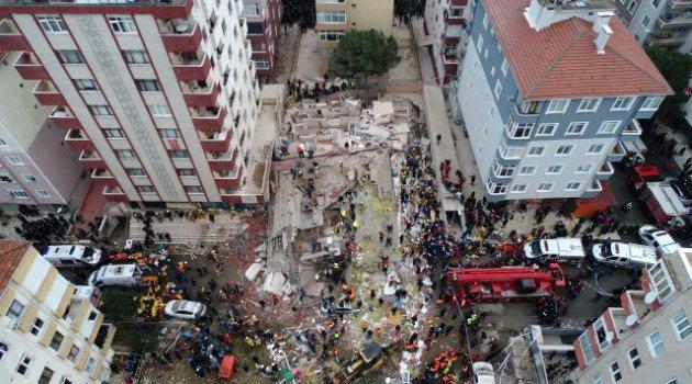 Kartal'da çöken binada hayatını kaybedenlerin sayısı 11'e yükseldi