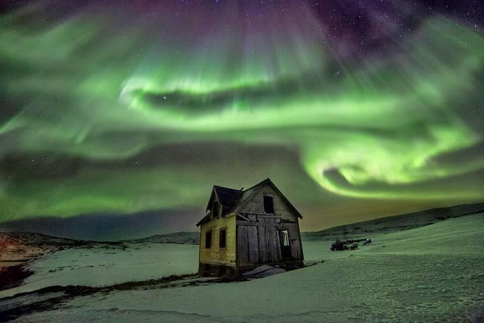 Finlandiya'da Kutup Işıkları