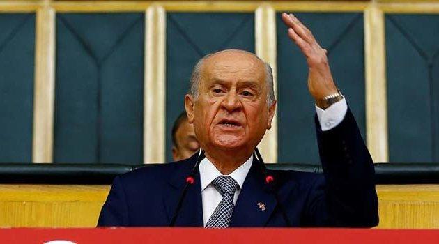 MHP lideri Bahçeli'den yargı reformuna destek