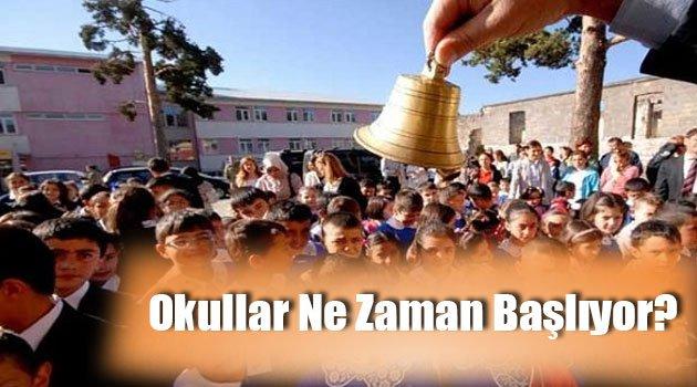Okullar Kurban Bayramı'ndan Sonra mı Açılacak?