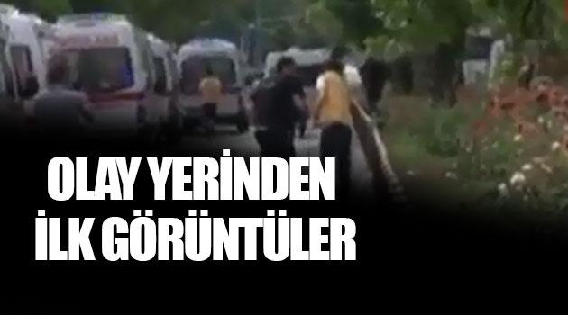 Vezneciler'de polise saldırı olay yerinden ilk görüntüler