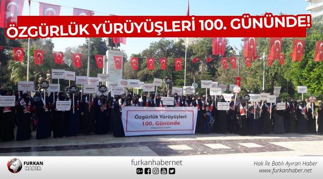 Özgürlük Yürüyüşleri 100. Gününde!