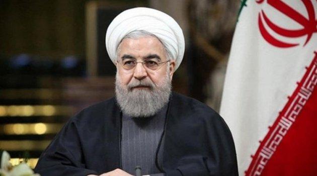 Ruhani: ABD, İran'a karşı yaptırım seçeneklerini tüketti, artık bu yoldan çark etmeye çalışacak
