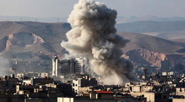 Rusya ile Esed rejiminden Suriye'de 3 günde 3 binin üzerinde saldırı