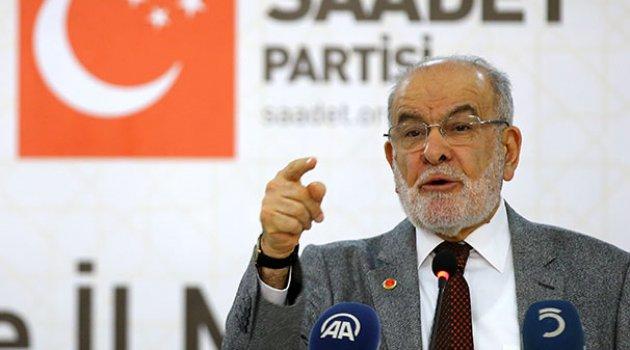 Saadet Partisi lideri: Erdoğan'ın, İçişleri Bakanı Soylu'yu görevden alacağını ümit ediyorum