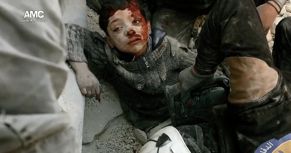 Yüzyılın en büyük katliamı Halep'te yaşanıyor