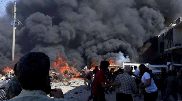 Suriye'de patlama: 16 yaralı