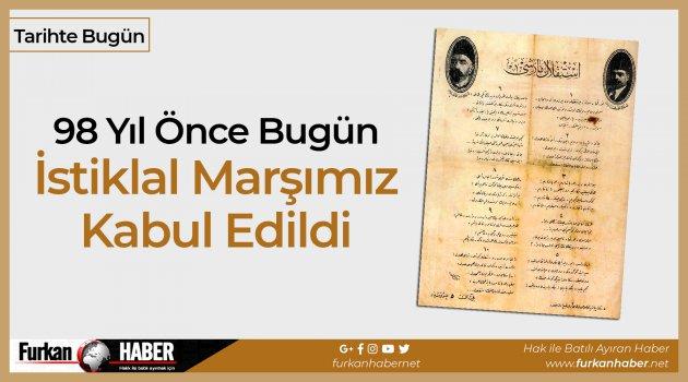 Tarihte Bugün | İstiklal Marşımızın Kabulü
