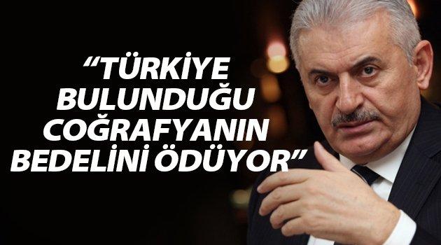"""""""Türkiye Bulunduğu Coğrafyanın Bedelini Ödüyor"""""""