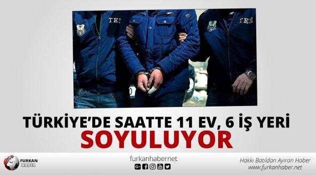 Türkiye'de saatte 11 ev, 6 iş yeri soyuluyor