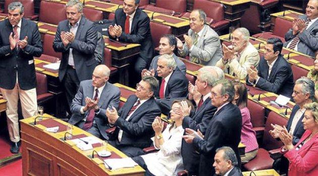 Yunan Meclisi'nde Kur'an'lı yemin