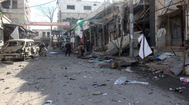 Zalim Esad rejiminin İdlib'e saldırıları sürüyor