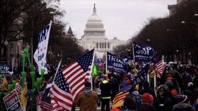 Trump destekçileri, Kongre'yi bastı