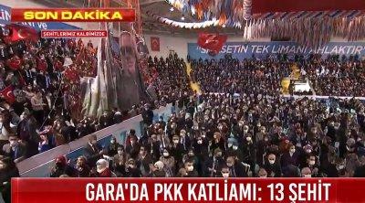Erdoğan: Salgının olduğu bir dönemde kongre yapıyoruz ve Rize'de salon lebaleb dolu