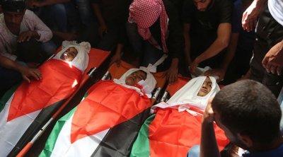 Katil İsrail 2020'de aralarında çocukların da bulunduğu 48 Filistinliyi şehit etti