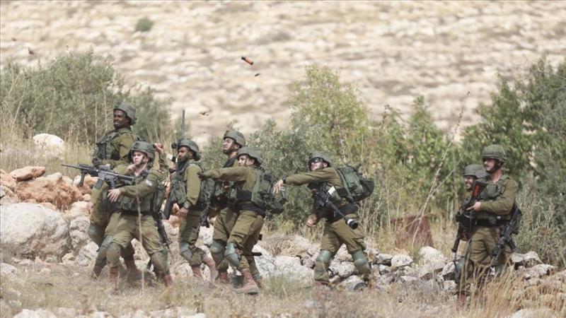 İşgalci İsrail güçleri Batı Şeria'da 12 Filistinliyi yaraladı