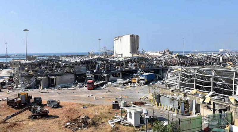 Beyrut Limanı'ndaki arama kurtarma çalışmaları yoğunlaşıyor