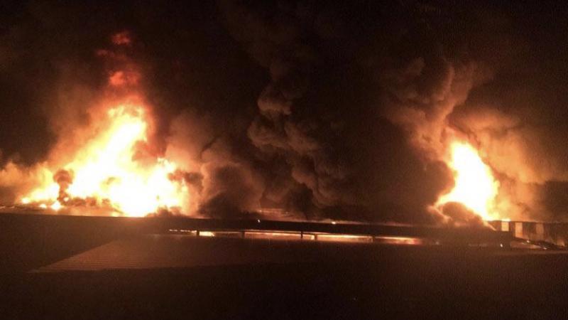 Antalya'da büyük yangın: 11 itfaiye aracı gönderildi