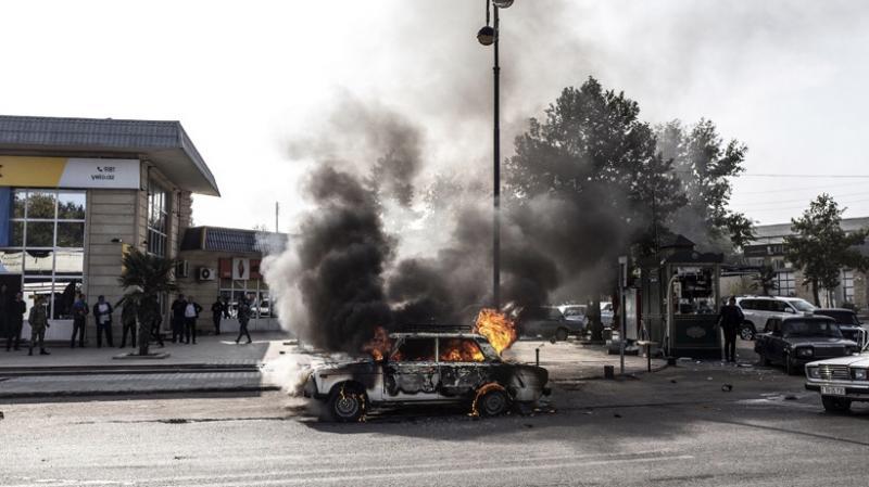 Azerbaycan'da acı bilanço: 91 sivil öldü, 400 kişi yaralandı