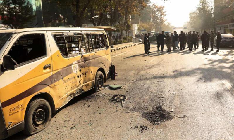 Afganistan'ın başkenti Kabil'e 14 roket atıldı: 3 ölü, 11 yaralı