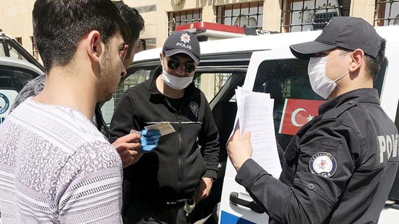 Gaziantep'te 10 bin 965 kişiye 11 milyon 179 bin 647 lira ceza