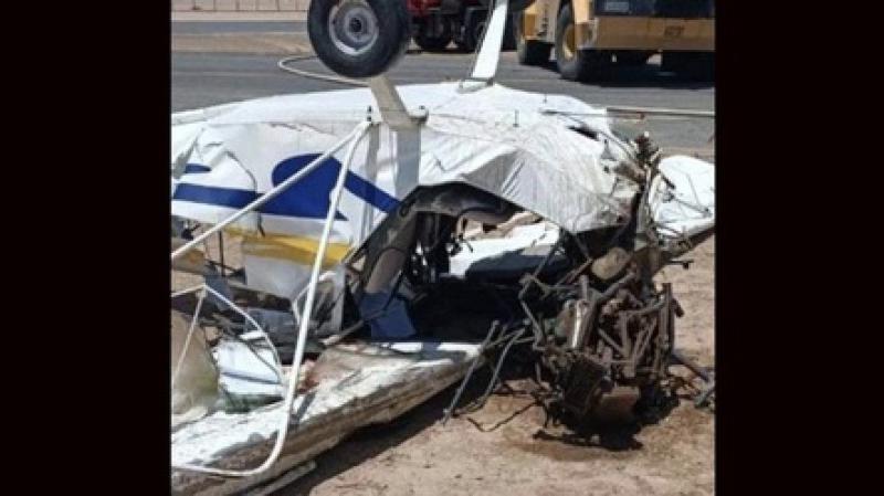 Mısır'da eğitim uçağı düştü: 2 ölü