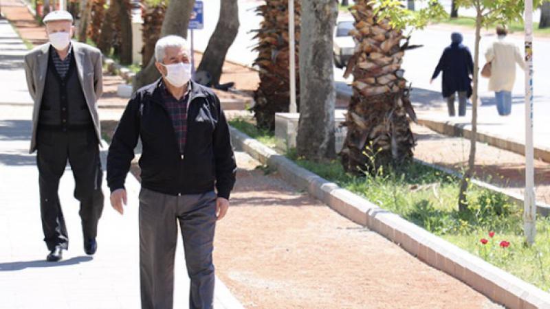 Antalya'da 65 yaş ve üzeri vatandaşlar için sokağa çıkma kısıtlaması