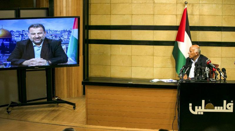 Hamas ve Fetih'den Kirli İlhak Planına Karşı Ortak Açıklama