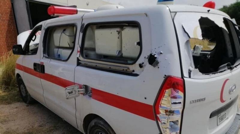 Hafter Güçleri, Hastaneye Saldırdı