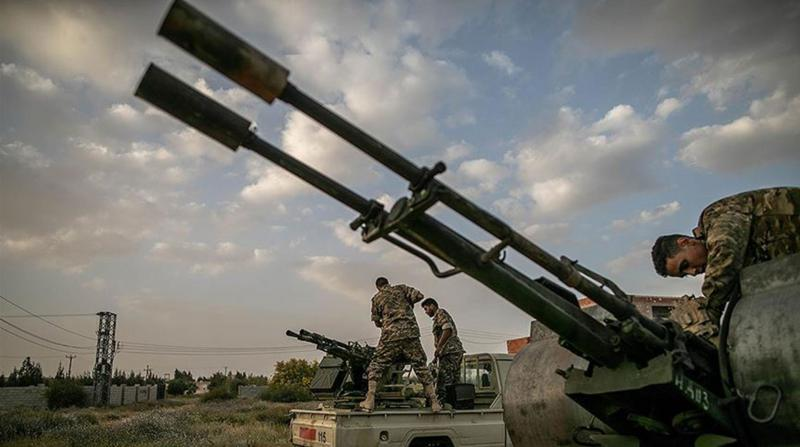 Libya'da Hükümet Güçleri Surman Kentinde Kontrolü Sağladı
