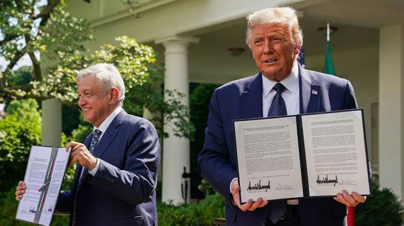 Trump ve Meksika Devlet Başkanı Obrador, 'Dostluk Deklarasyonu' İmzaladı