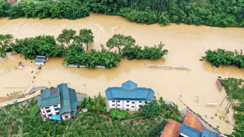 Çin'de Şiddetli Yağış: 5 Ölü
