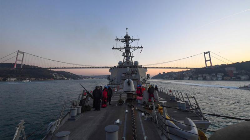 ABD Savaş Gemisi, 'Sea Breeze 2020' Tatbikatına Katılmak İçin Karadeniz'e Girdi