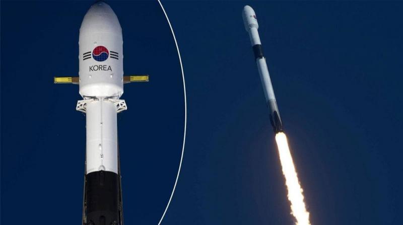 Spacex, Güney Kore'nin İlk Askeri İletişim Uydusunu Uzaya Fırlattı