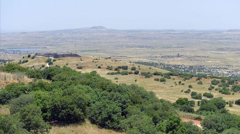İşgal Yönetimi, Golan Tepeleri Üzerindeki Hava Sahasını Kapattı