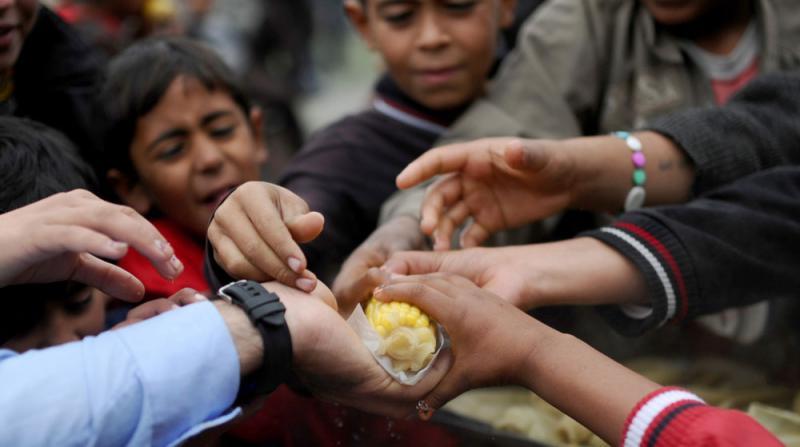 Suriye'de 3 Milyon Kişi 48 Saat Sonra Açlığa Terk Edilebilir