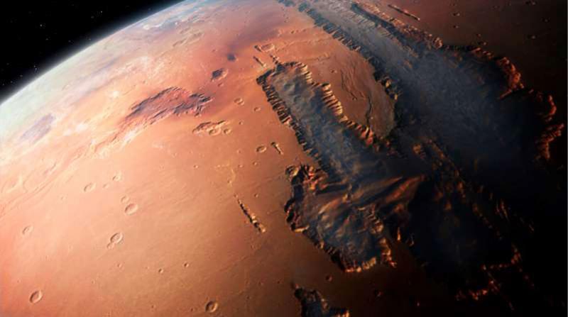 Mars'taki Oksijende Hareketlilik Tespit Edildi
