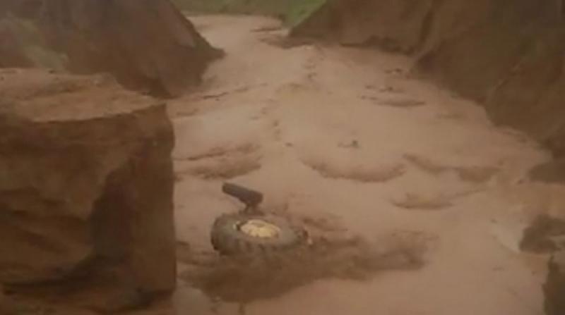 Tatvan'da Şiddetli Yağış Sele Neden Odu