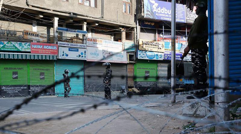 Keşmir'de Ablukanın 150. Günü