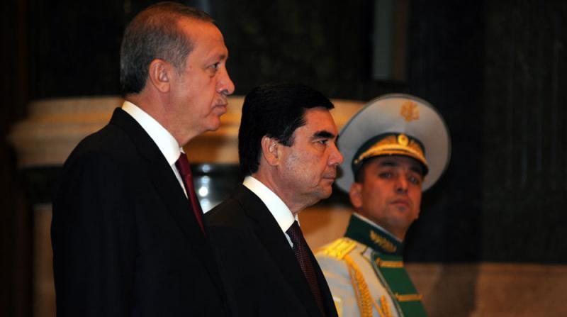 Erdoğan Berdimuhammedov Görüşmesi