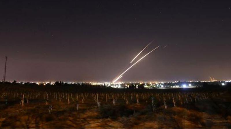Suriye'den İsrail'e Saldırı: 4 Roket Atıldı