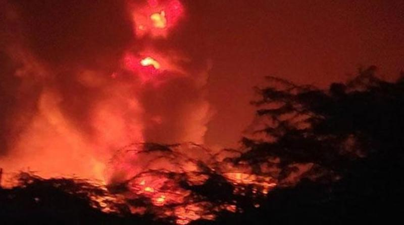 İlaç Fabrikasında Yangın: 4 Yaralı