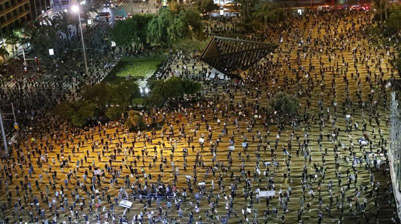 Netanyahu'nun Başı Dertte! Halk Sokağa Döküldü, Protestoların Ardı Kesilmiyor