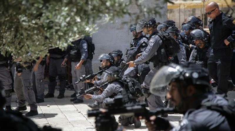 İşgalci İsrail Kudüs'te Bir Camiyi Kapattı