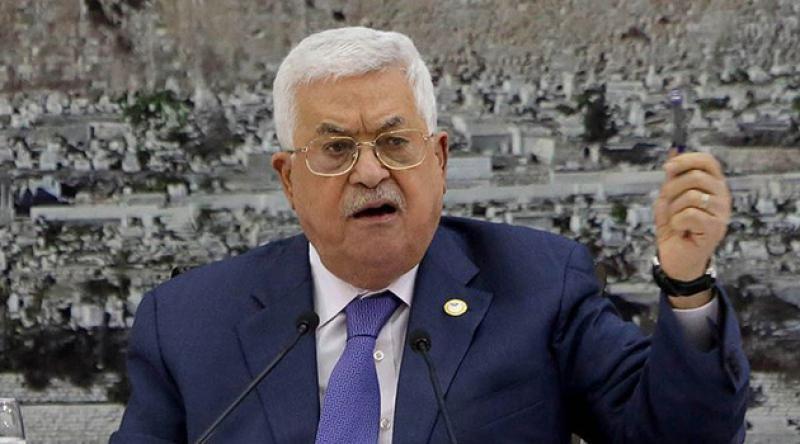 Mahmud Abbas: Filistin, ABD ve İsrail'le varılan tüm anlaşmalardan çekiliyor