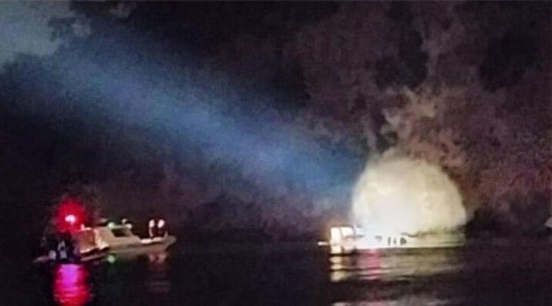 Heybeliada açıklarında içinde 27 kişinin olduğu tekne battı
