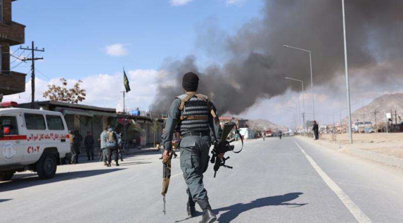 Afganistan'da eve isabet eden roket mermisi sonucu 5 sivil öldü