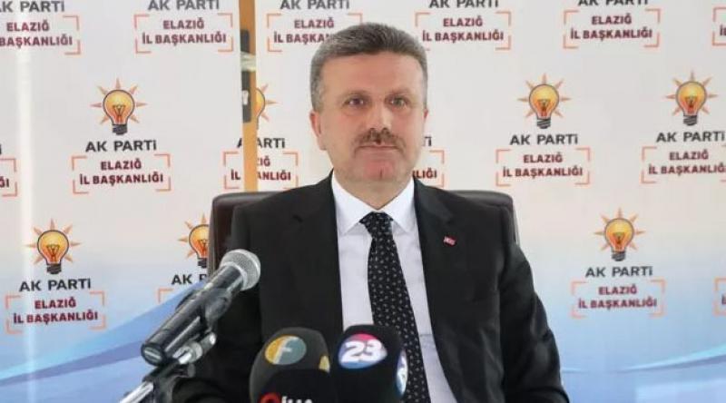 AK Parti Elazığ İl Başkanı Gürgöze istifa etti