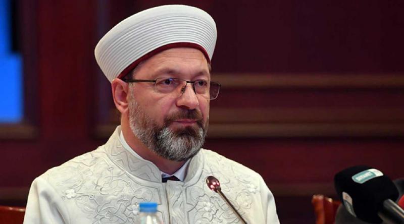 LGBT sapkınlıktır diyen Ali Erbaş'a suç duyurusu