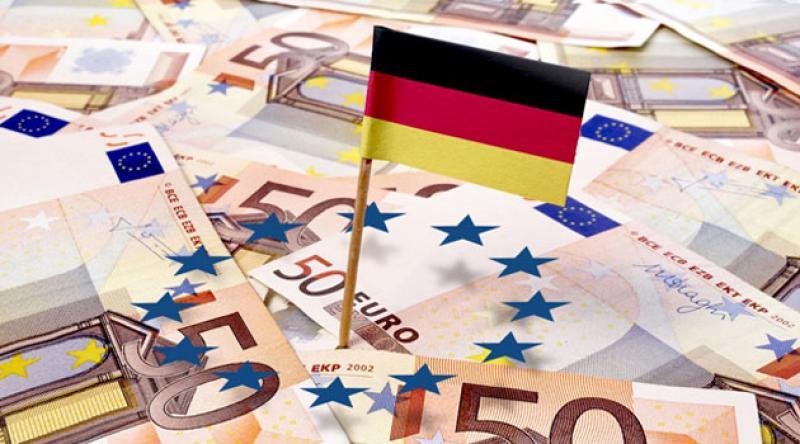 Alman ekonomisinde tarihi küçülme